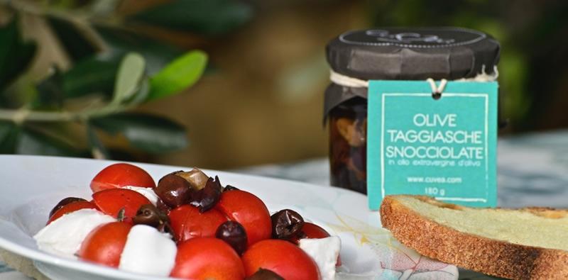 Olive taggiasche snocciolate - 180 g