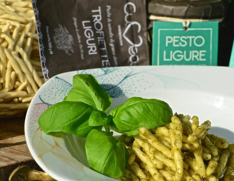 Pesto ligure con basilico genovese DOP - 180 g