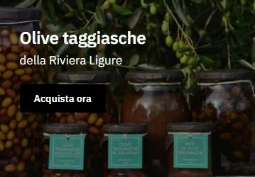 Compra le olive taggiasche Cuvea